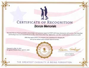 military recognition award